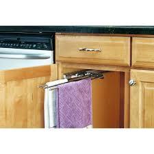 shop rev a shelf chrome towel holder at lowes com