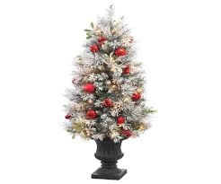 home depot christmas trees prelit home decorating interior