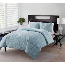 King Quilt Bedding Sets Vcny Home Microfiber King Quilt Set 3 735732260056