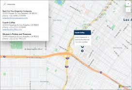 Launch Maps Interactive Map Search With Azure Location Based Services