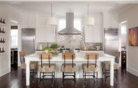 Kitchen Island Colors by Kitchen Tranquil Kitchen Color Idea With Warm Wood Colors And