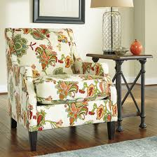 Small Accent Chairs For Living Room Annora Accent Chair Accent - Printed chairs living room