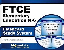 ftce elementary education k 6 flashcard study system ftce test