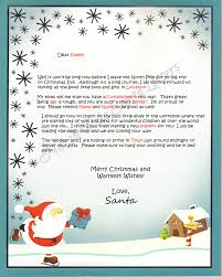 personalized letter from santa pole santa letters pole letters from santa claus