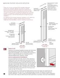 does it fit door hardware interference odl add on diy blinds