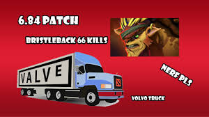 volvo trucks youtube bristleback in 6 84 dota 2 volvo truck youtube