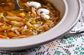 cuisiner choux vert recette de soupe au chou vert et au lard