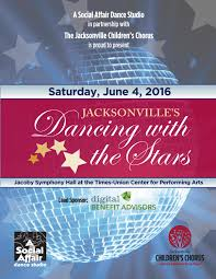 jacksonville u0027s dancing with the stars program 2016 by jacksonville
