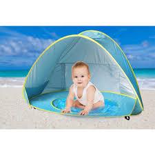 Beach Sun Umbrella Baby Beach Tent Beach Umbrella Sunba Youth Pop Up Tent Uv