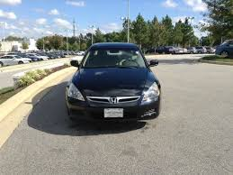 2007 v6 honda accord used 2007 honda accord sdn 4dr v6 at lx se carolina