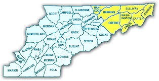 County Map Of Tennessee by Community Resources
