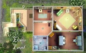mod the sims curious little cottage on the hill starter home