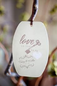 Wedding Wish Tags Colorful Country Fair Wedding