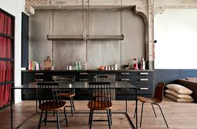 Industrial Style Home Apartments Inspiring Industrial Kitchen Appliances Style Home