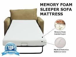 Memory Foam Mattress Sofa Bed by Best 25 Sleeper Sofa Mattress Ideas On Pinterest Small Futon