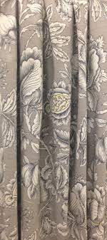 Yellow And Grey Curtain Panels Floral Curtains Swavelle Perdido Graphite Curtain Panels Grey