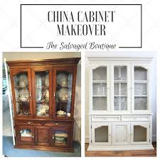 a project meant for chalk paint china cabinet makeover the