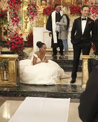 Wedding Roll Out Carpet Wardrobe Breakdown Scandal U0027s Olivia Pope U0027s Wedding Gown Talking