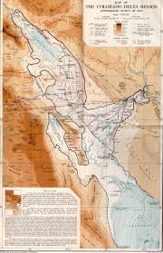 Map Of Colorado River by Imagery And Cartography