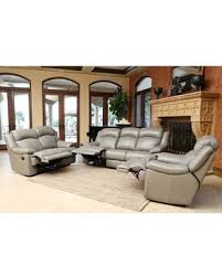 Top Grain Leather Reclining Sofa Check Out These Deals On Clarence 3 Top Grain Leather