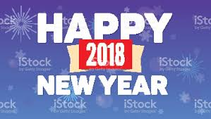 happy new year backdrop 2018 happy new year greeting horizontal poster on sky