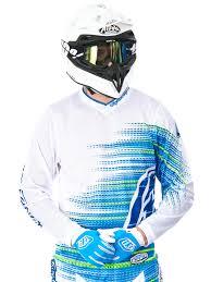troy lee designs motocross gear troy lee designs white 2017 gp electro mx jersey troy lee