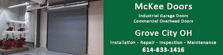 How To Install An Overhead Door Grove City Oh Commercial Garage Overhead Door Repair And Install