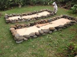 Images Of Rock Garden by Rocks For Garden Beds Concrete Raised Bed Wall Garden Raised Rock