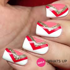 whats up nails regular chevron tape u2013 daily charme