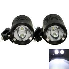 Led U3 2pcs Bright 30w 1200lm Motorcycle U3 Led Driving Spot Fog