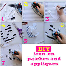 is the make your own iron on patches and appliques