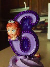 sofia the candle mickey mouse inspired birthday candle by aeinspirations on etsy