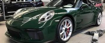porsche british racing green british racing green 2018 porsche 911 gt3 is a manual treasure