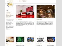 get hight quality web design ny for tv installation business