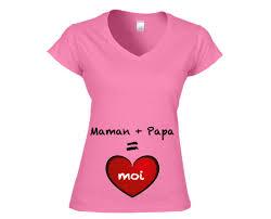future maman t shirt personnalisable futur maman les encres quadra