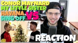 Conor Maynard Meme - conor maynard vs my little sister havana sing off camila