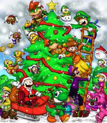merry mario christmas by foxeaf on deviantart