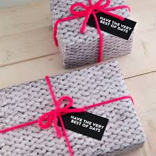 christmas wrapping paper sets knitted gift wrap set by bread jam notonthehighstreet