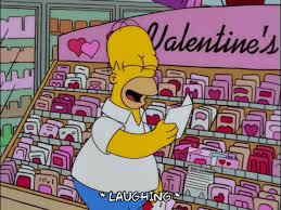 simpsons valentines day card homer episode 14 gif find on gifer