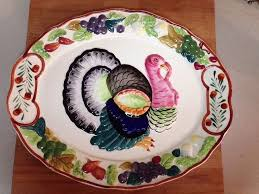 ceramic turkey platter 7 best turkey platter images on turkey platter