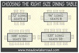 dining room table measurements typical dining room table dimensions dining room standard size