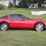 1989 Corvette Interior 1994 Corvette Coupe White W Cherry Red Leather Interior For Sale