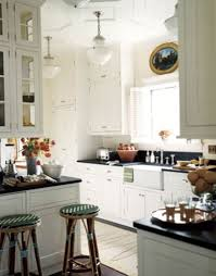 kitchen galley kitchen apartment holiday dining freezers