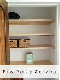 Bookcase Pantry Easiest Pantry Or Closet Shelving Ana White Woodworking Projects