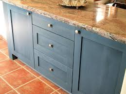 blue kitchen cabinets ideas blue painted kitchen cabinets frequent flyer miles