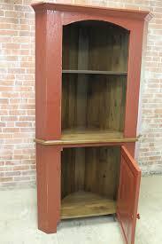 Primitive Corner Cabinet Rustic Hutches