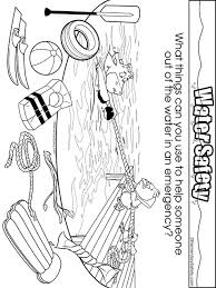 coloring pages water safety water safety coloring pages free printable water safety coloring pages