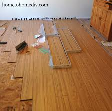 Laminate Floor Spacers Installing Laminate Flooring Home To Home Diy Home To Home Diy