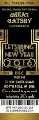 invitations for new years eve party great gatsby invitation new year invitation new year u0027s