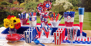 4th of july candy buffet party city